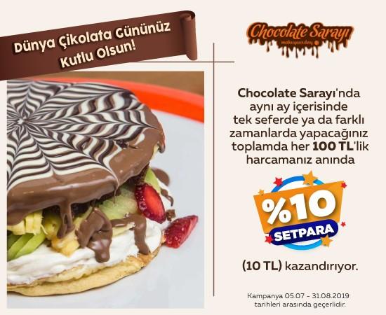 Chocholate Sarayı Dünya Çikolata Günü Kampanyası
