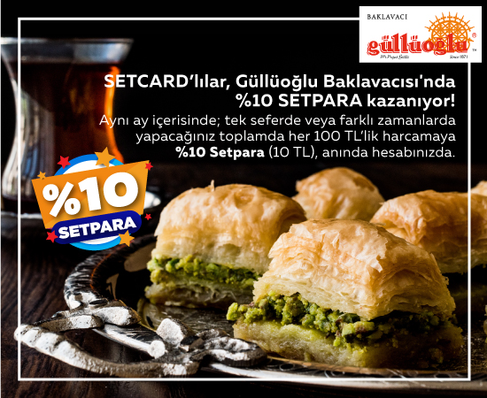 Güllüoğlu Ramazan Setpara Kampanyası