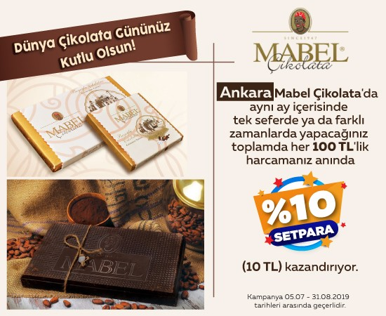 Mabel Çikolata Dünya Çikolata Günü