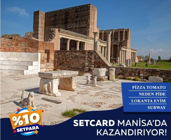Setcard Manisa'da Kazandırıyor