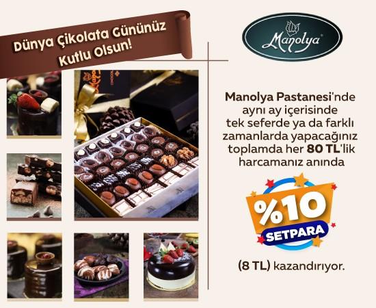 Manolya Pastanesi Dünya Çikolata Günü
