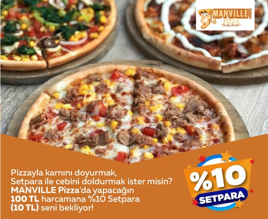Marville Pizza Setpara Kampanyası