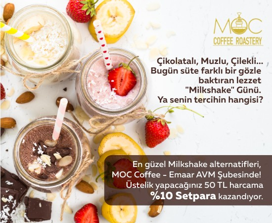 moc coffee milkshake günü