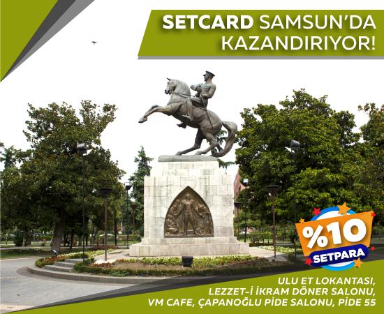 Samsun Setpara Kampanyası