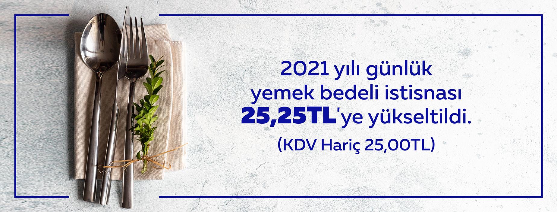 2021 Vergiden istisna tutar