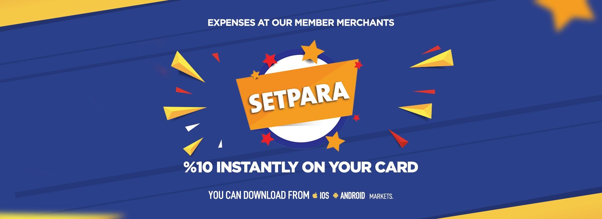 Setcard Setpara - EN