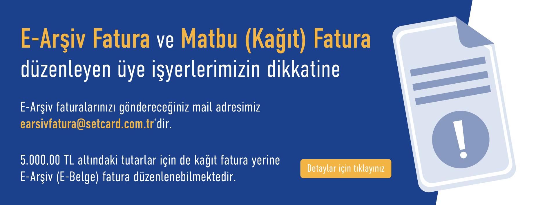 SETCARD ÜYE İŞYERİ